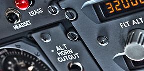 aircraft control panel fabrication and finishing